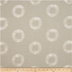 Nate Berkus Solange Embroidered Metallic Circles Platinum