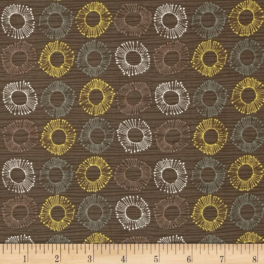 Market Road Circles Brown/Multi