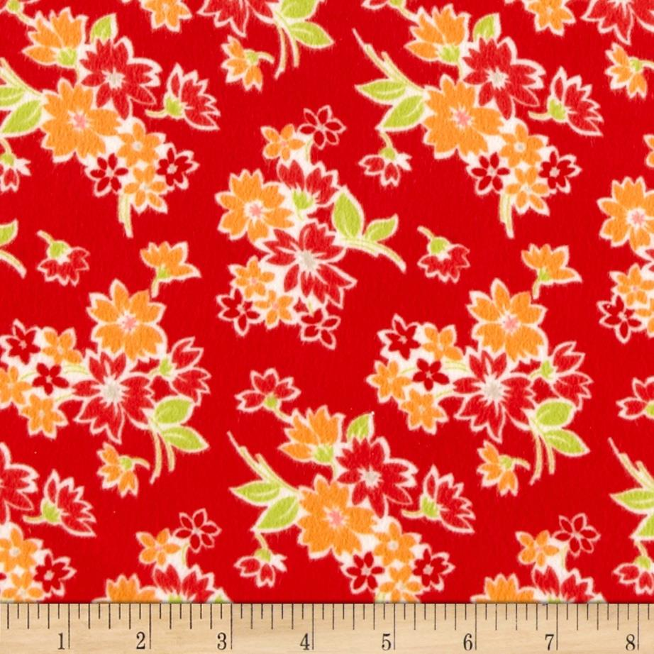 Moda Miss Kate Flannel Spring Red