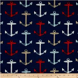 Bryant Indoor/Outdoor Anchor Allover Arbor Navy