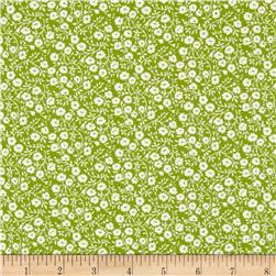 Moda Hello Darling Dainty Green
