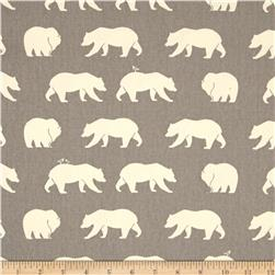 Birch Organic Bear Camp Bear Canvas Hike Shroom
