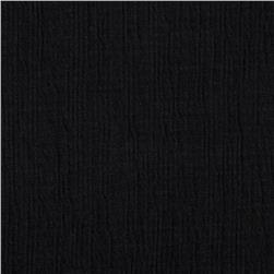 Cotton Gauze Black
