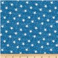 By the Sea Bay Nautical Star Blue/White