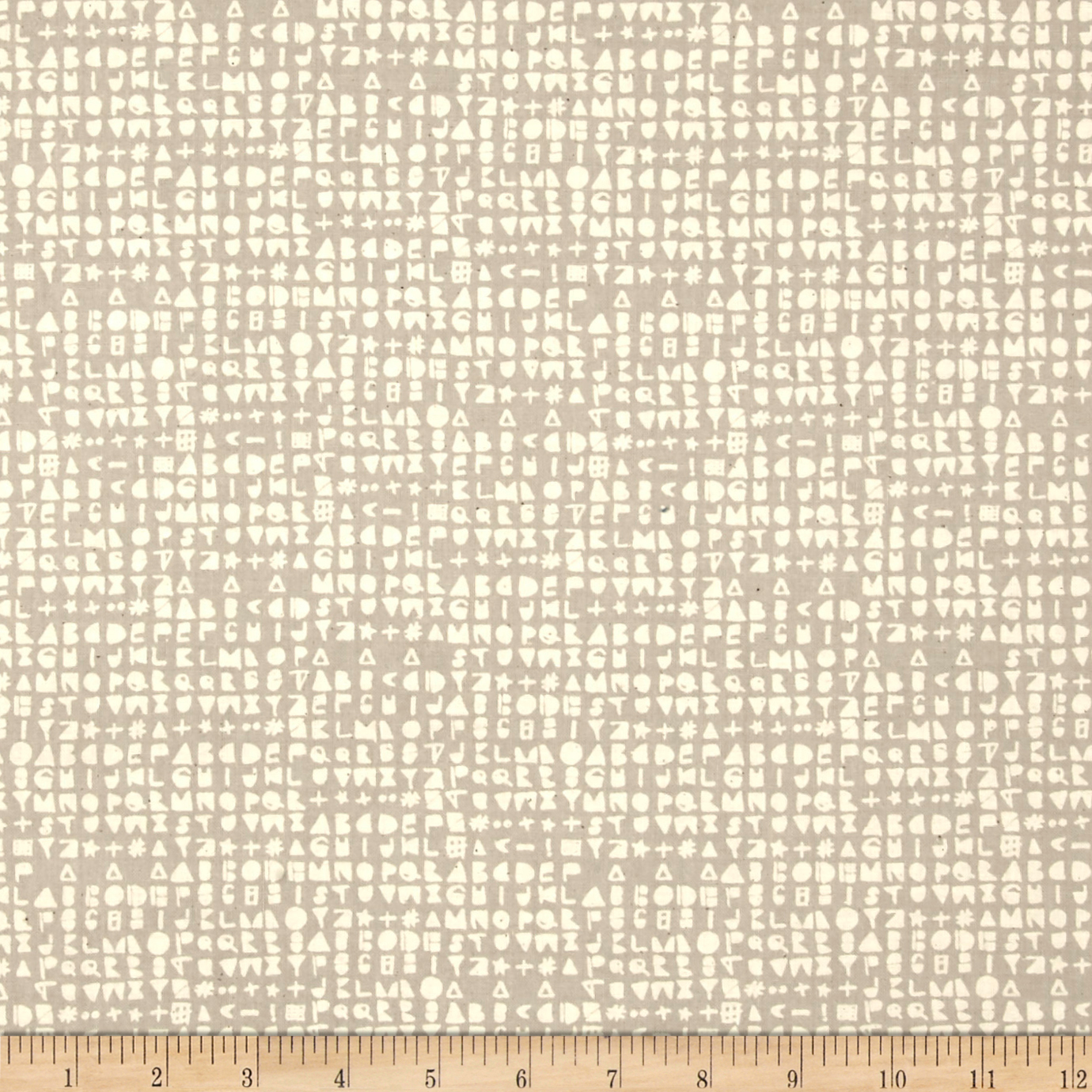 Cotton + Steel Flower Shop Cipher Natural Fabric by Cotton & Steel in USA