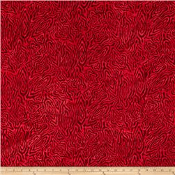 Wilmington Batiks Rippled Reflections Red
