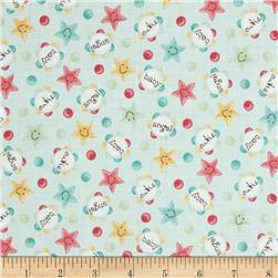 Baby Bundles Words & Stars Aqua