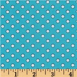Quilt Camp Dot Blue