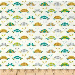 Michael Miller Les Amis Turtle Parade Turtles Teal