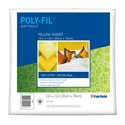 Fairfield Soft Touch Supreme Poly-Fil Pillow 12'' Square