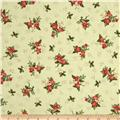 The Giving Quilt Small Holly Metallic Green
