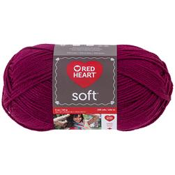 Red Heart Soft Yarn (9779) Berry