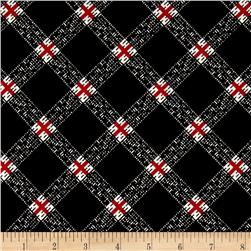 Windsong Plaid Black