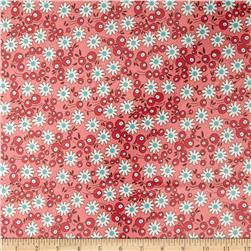 Riley Blake Laminate Flower Berries Pink