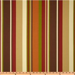 Richloom Solarium Outdoor McCoury Stripe Chocolate