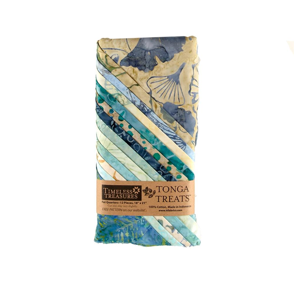 Timeless Treasures Tonga Batik Surf Fat Quarter
