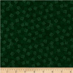 Harmony Flannel Squares Forest