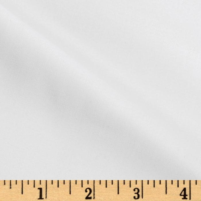 Stretch Vera Cotton Sateen White