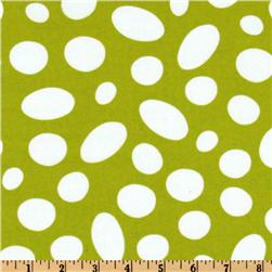 Kaufman How The Grinch Stole Christmas Flannel Spots Lime