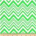Neon & On Chevron Neon Green