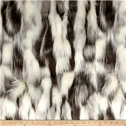 Michael Miller Nordic Fox Faux Fur Snow