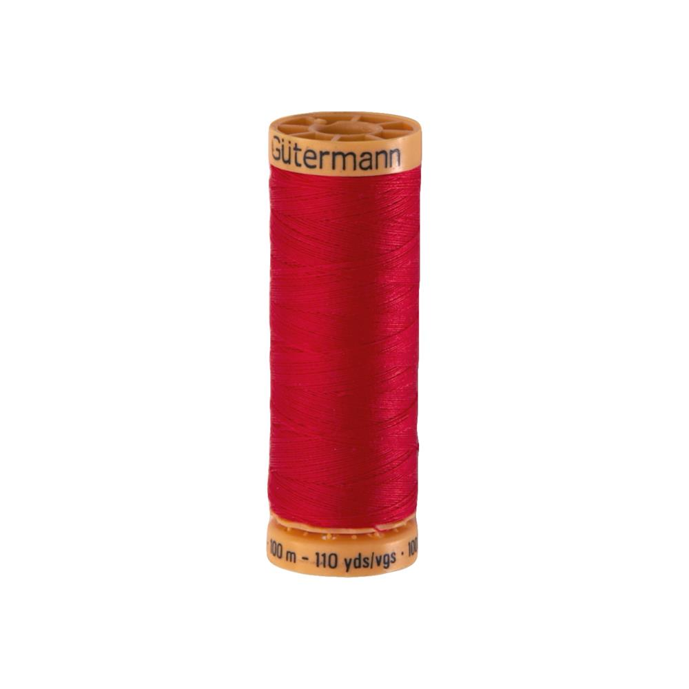 Gutermann Natural Cotton Thread 100m/109yds Light Red