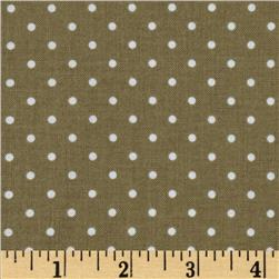 Michael Miller Pinhead Dot Dirt Fabric