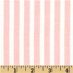 Riley Blake Lost and Found Love Stripes Pink