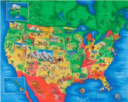 Multi Panel Map United States Multi