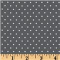 Moda Shades Of Black Dotted Swiss Grey