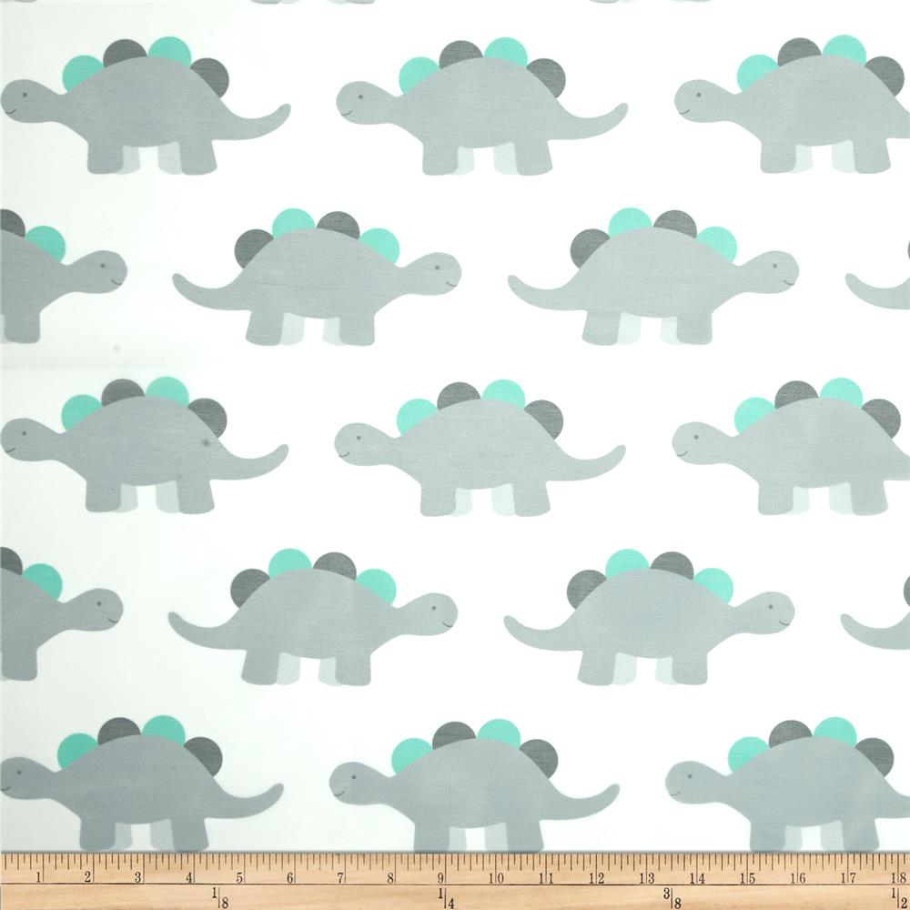 Rca dinosaur sheers grey discount designer fabric for Grey dinosaur fabric