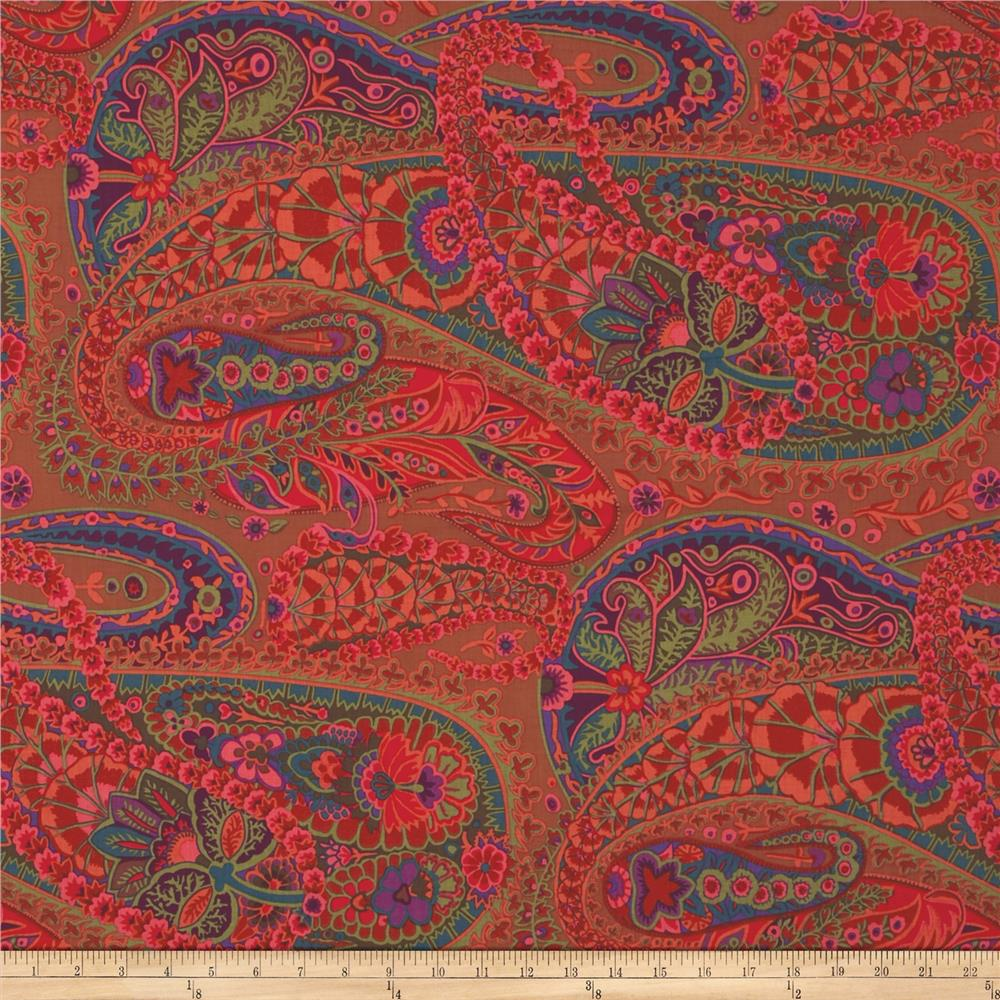 Kaffe Fasset Collective Paisley Jungle Rust