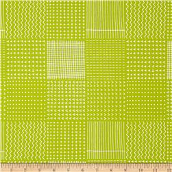 Kaufman Blueberry Park Geo Plaid Limelight