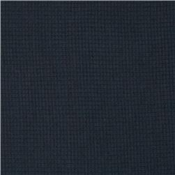 Cotton Thermal Knit Navy