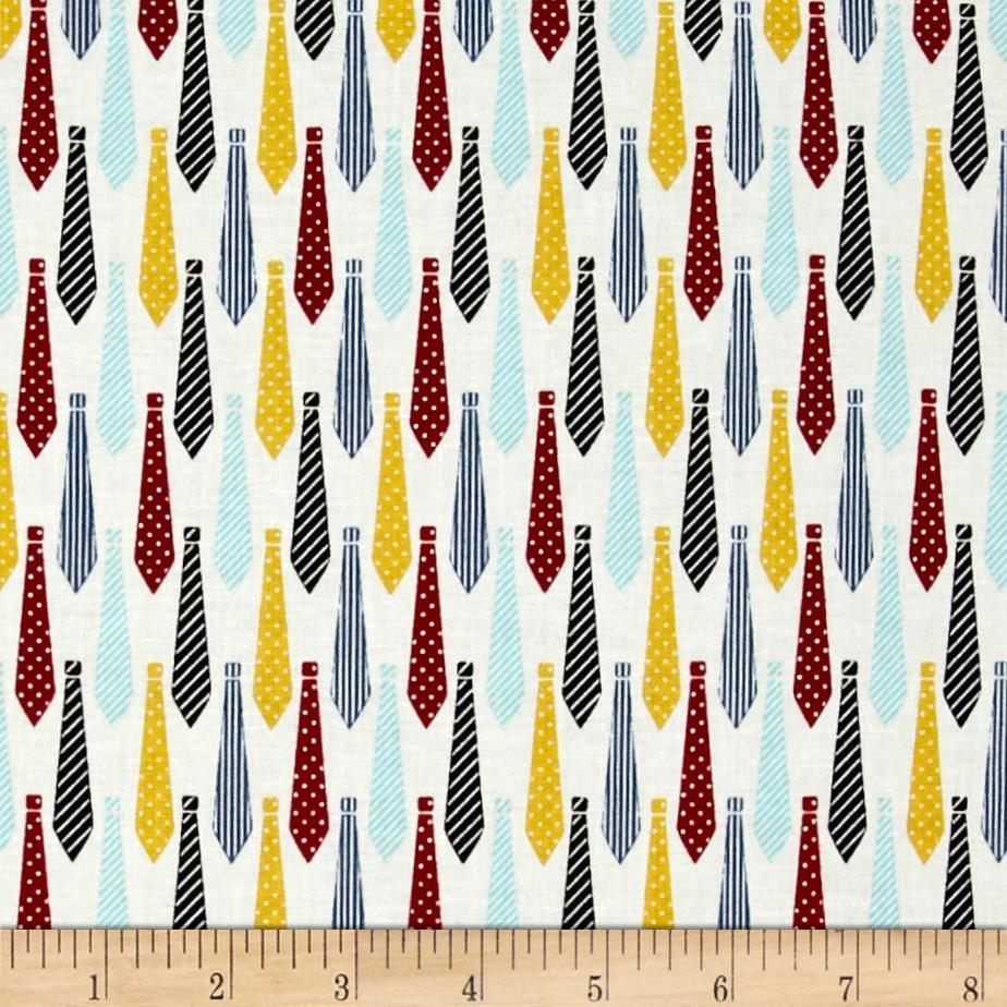 Riley Blake Designer Novelty Ties Multi