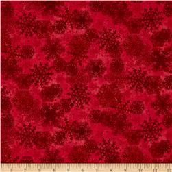 My Precious Quilt Snowflake Red