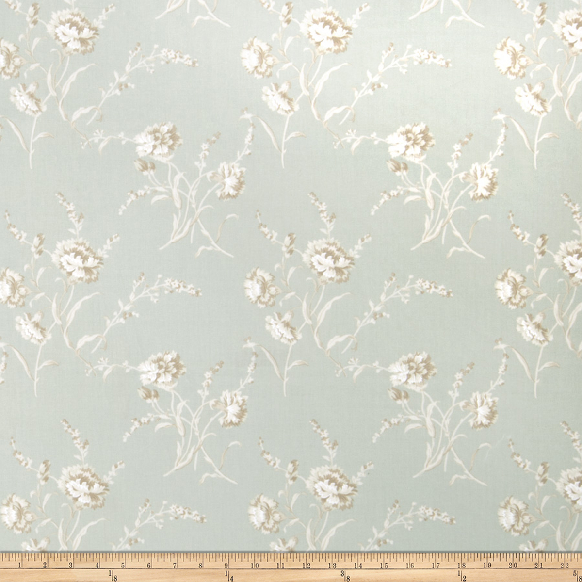 Charlotte Moss Lucie Celadon Fabric by Fabricut in USA