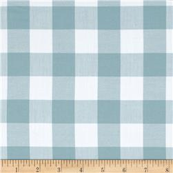 "Kaufman 1"" Carolina Gingham Fog"