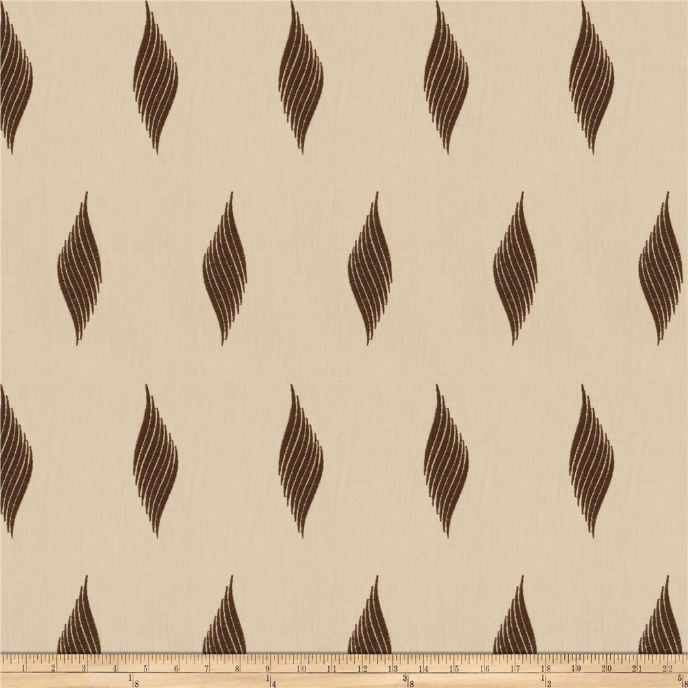 Fabricut Piye Brown