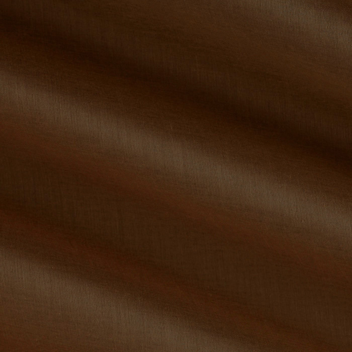Window Sheer Voile Chocolate Fabric