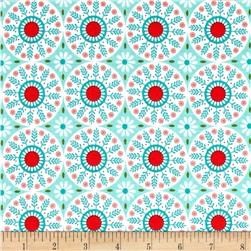 Riley Blake Ardently Austen Medallion Teal