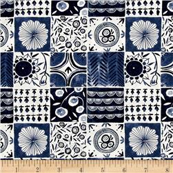 Dear Stella Tea Party Tablecloth Denim