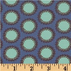 Amy Butler Soul Blossoms Bliss Laurel Dots Perwinkle