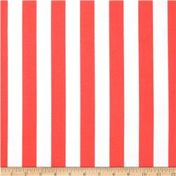 Michael Miller Bekko Home Decor Thin Stripe Coral