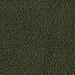 Wintry Fleece Olive Green