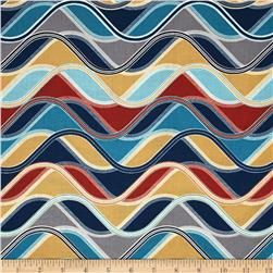 Robert Kaufman Vantage Point Wavy Stripe Multi