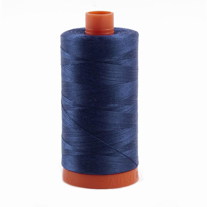 Aurifil Quilting Thread 50wt Steel Blue