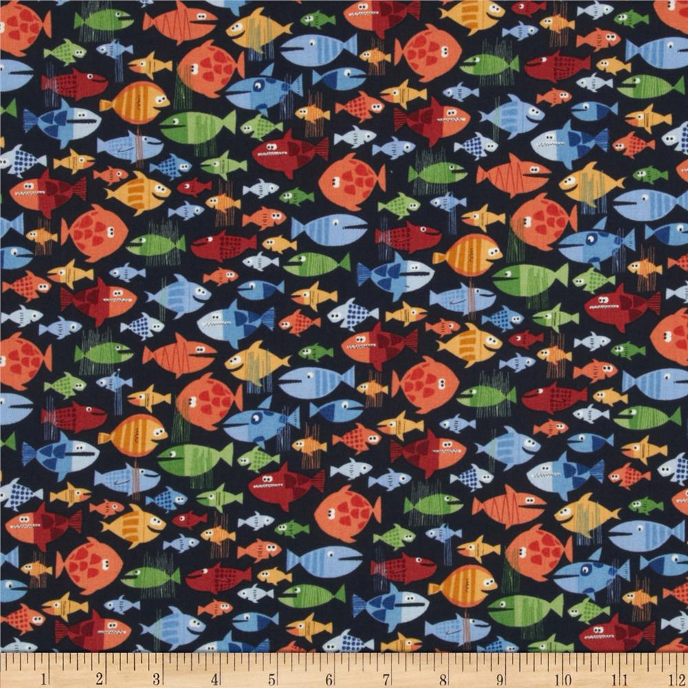 Pirates discount designer fabric for Children s jersey fabric uk