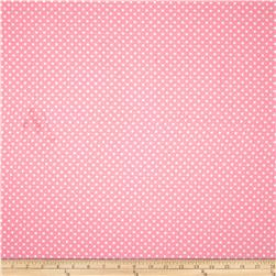 Premier Prints Dottie Baby Pink/White Fabric