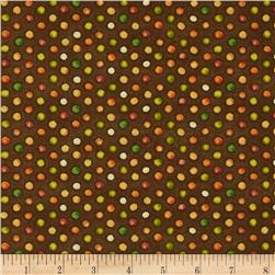 Grateful Harvest Dots Brown